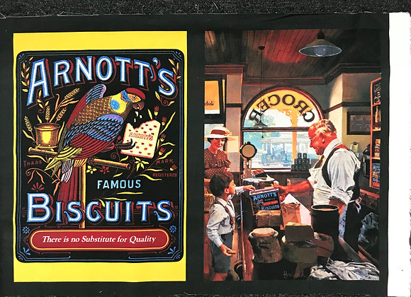 Arnotts biscuit panel