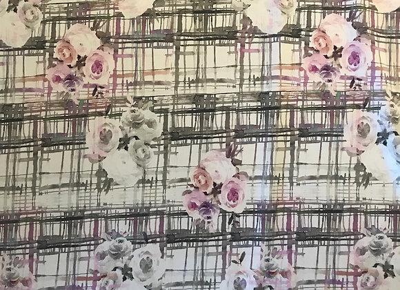 Truffle Lilac Stretch cotton