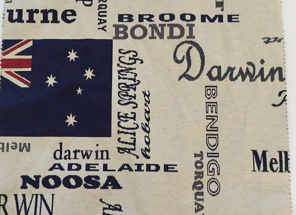 Aussie Blue Upholstery Fabric