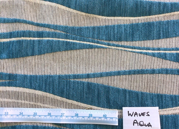 5mt Lot Waves Aqua 9152