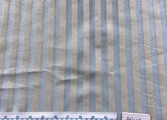 5mt lot Aqua Stripe 9146