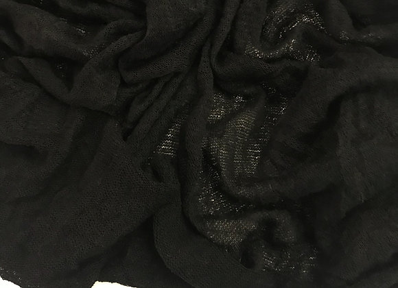 Dilemma Knit Crushed black