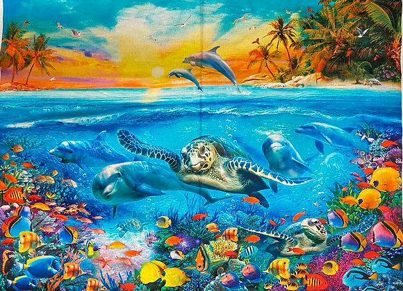 Ocean reef panel