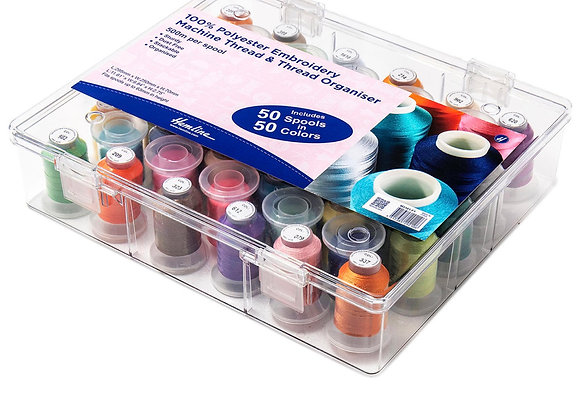 Embroidery thread poly 50 including box