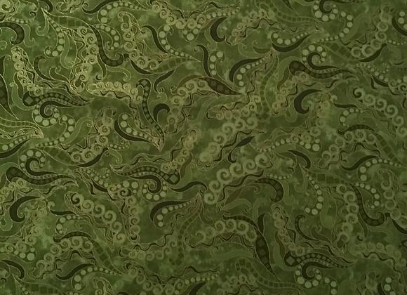 Scroll green