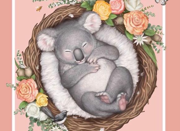 Native Nursery Koala panel