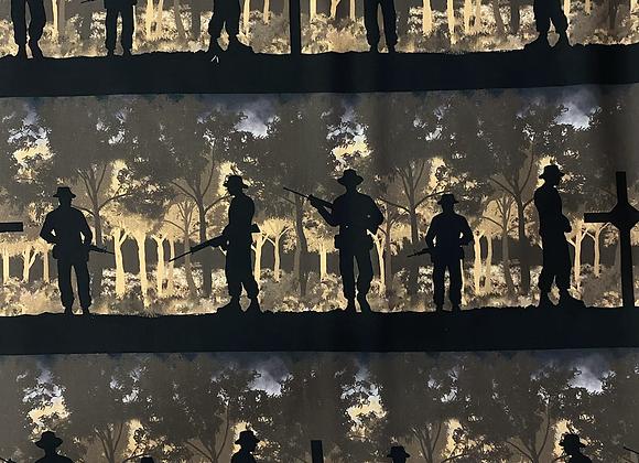 Vietnam Remembering Silhouettes Jungle
