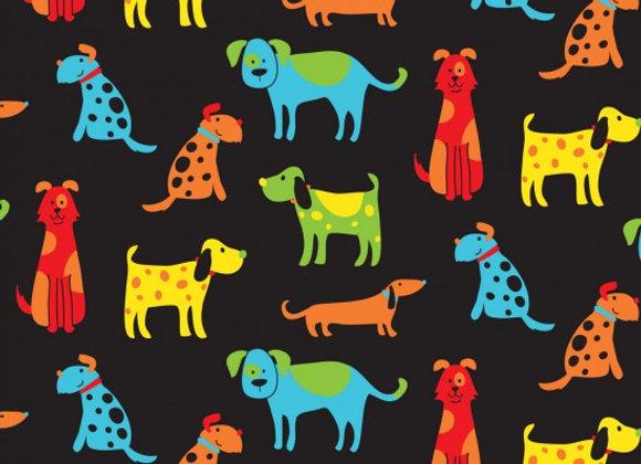 Happy Dogs black