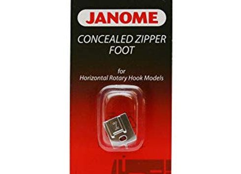 Concealed Zipper Foot - Janome