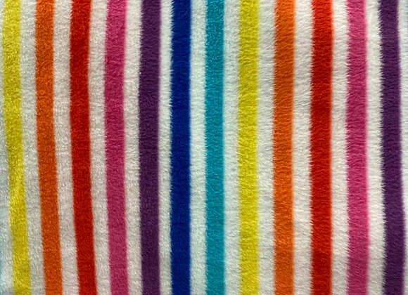 Stripe polar fleece