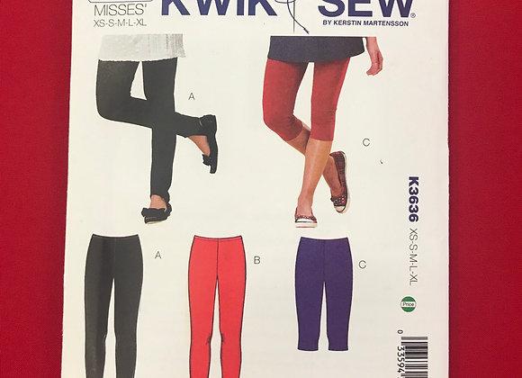 K3636 Kwik Sew Pattern