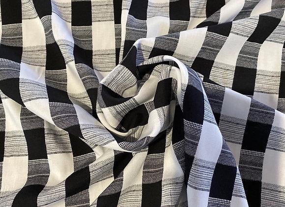 Checkered rayon