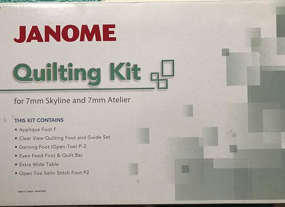 Janome Skyline3 Quilting Kit