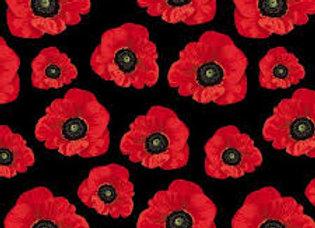 Poppy blk Remembering