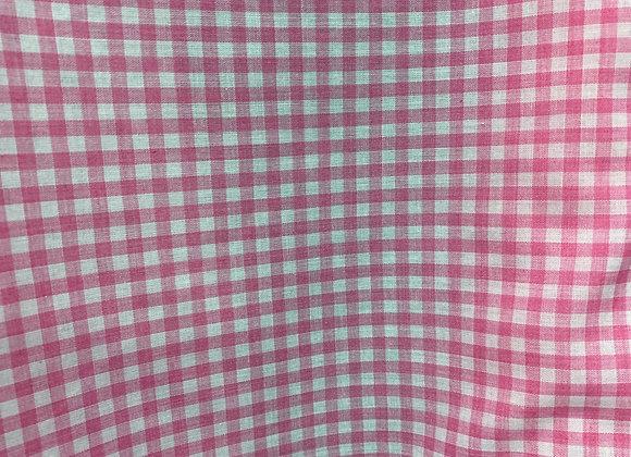 4mm Gingham pink
