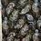 Thumbnail: Peacock feathers lg flourish black
