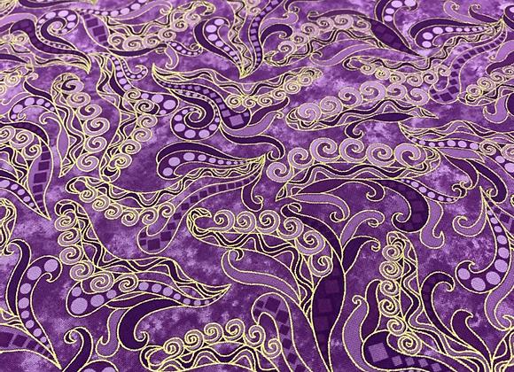 Scroll purple