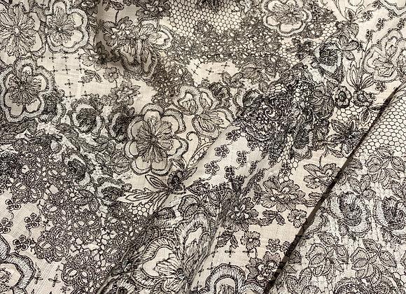 Japanese Linen black