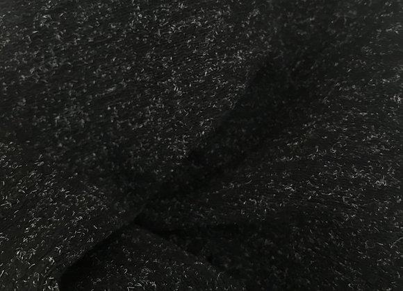 Black fleck knit