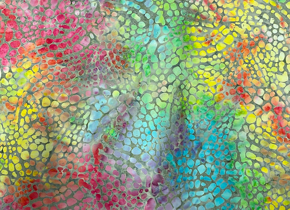 Crackle Batik print 2655