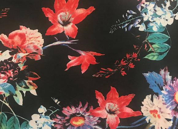 Field of flowers Chiffon