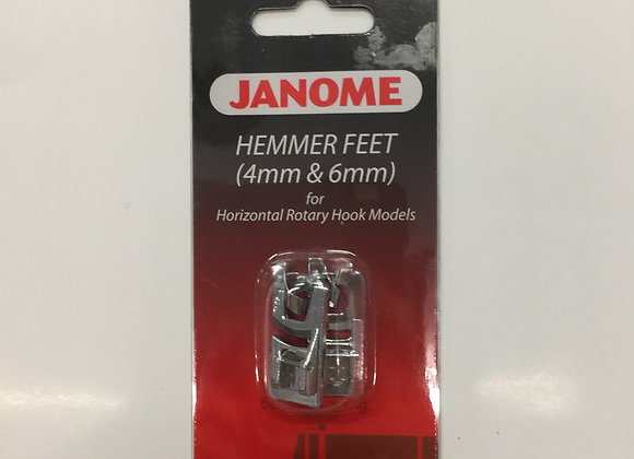Hemmer Feet (box of 4mm and 6mm)- Janome