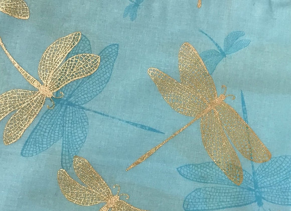Dragonfly shimmer turquoise