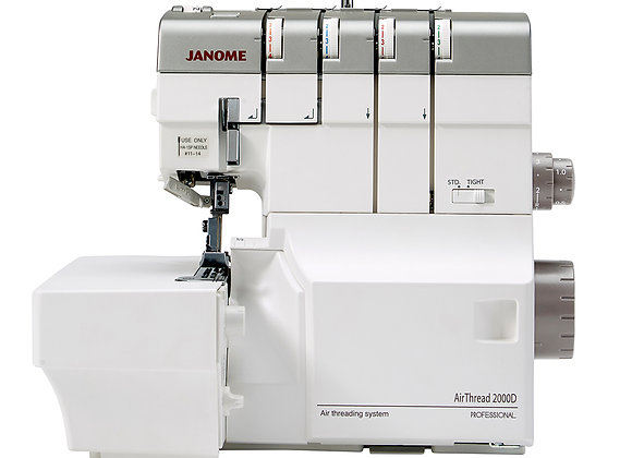 2000D Airthread Janome Overlocker