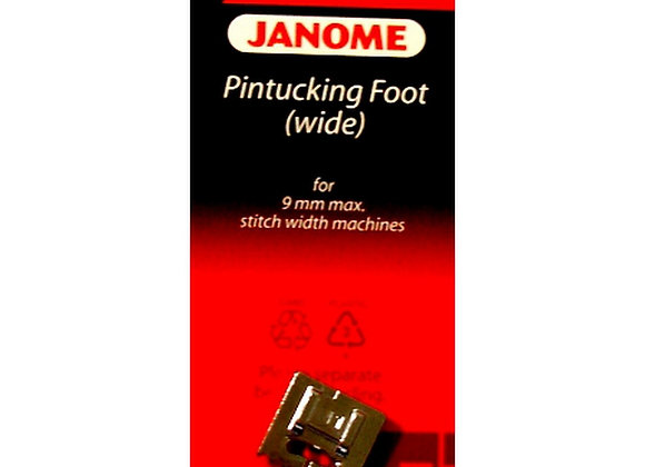 Pintucking Foot - Janome (wide and narrow options)
