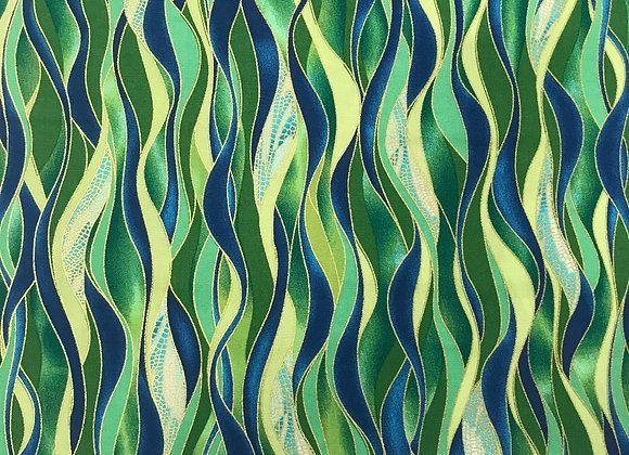 Dancing Waves Emerald