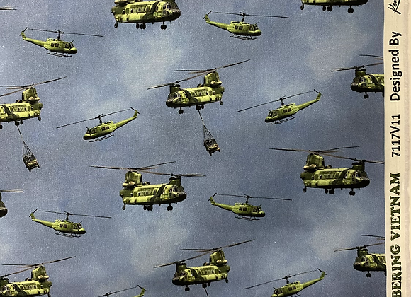Vietnam Remembering Helicopters Chinooks