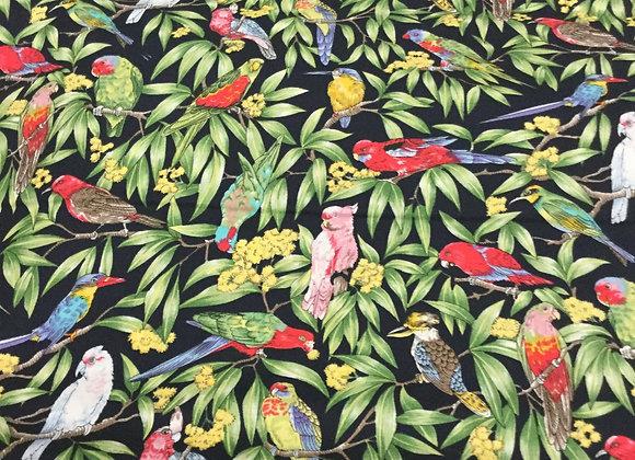 Paradise birds Navy