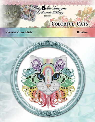 Colorful Cats - Rainbow