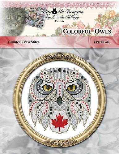 Colorful Owls - O'Canada