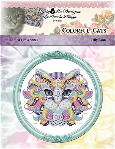 Colorful Cats - Jelly Bean