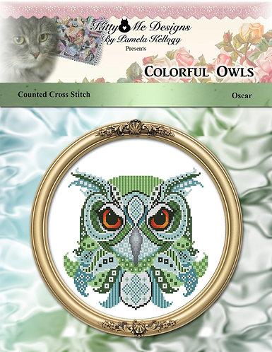 Colorful Owls - Oscar