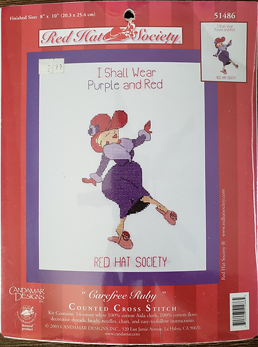Red Hat Society Carefree Ruby