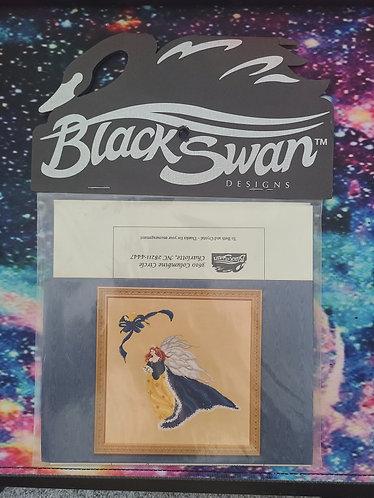 Black Swan Designs - Rose in Winter