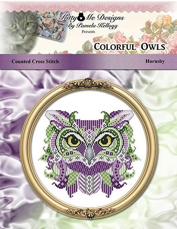 Colorful Owls - Hornsby