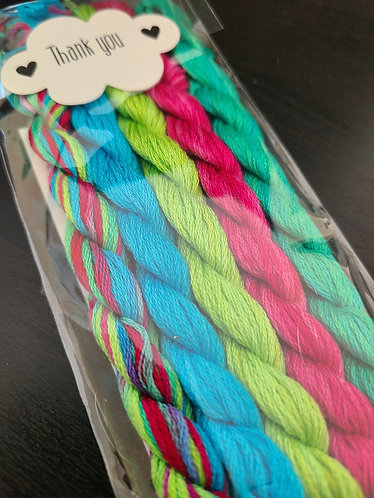 Rolanda Floss Pack - Multicolor