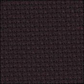 14 Count Aida - 15 x 18 Black - Charles Craft