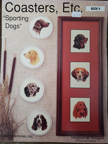 Coasters Etc. Sporting Dogs