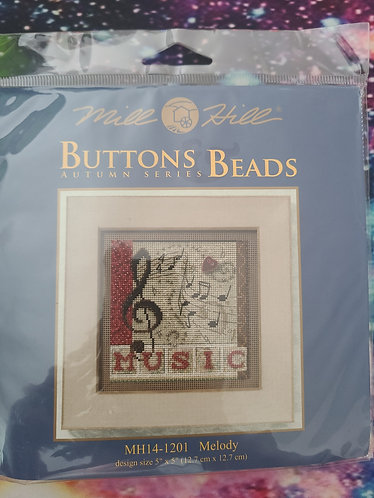 Mill Hill Buttons & Beads - Melody