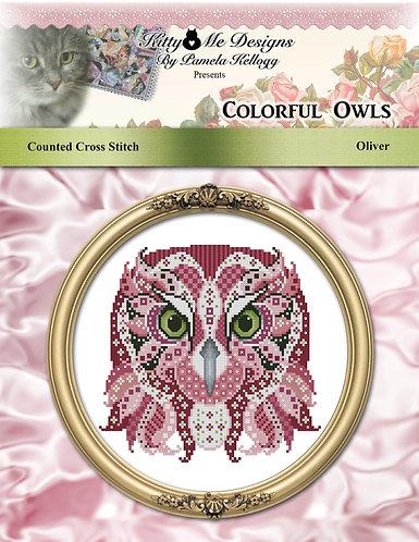 Colorful Owls - Oliver