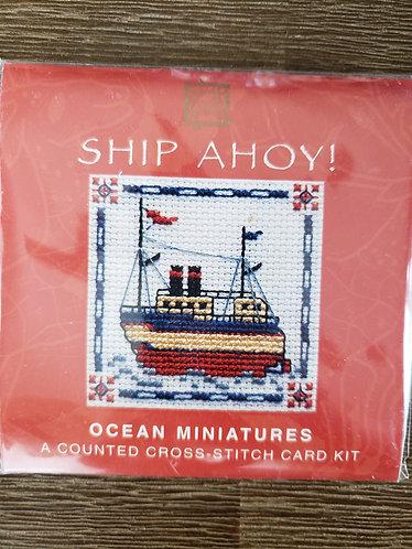 Ship Ahoy! Ocean Miniatures