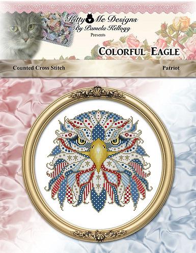 Colorful Series - Patriotic Eagle