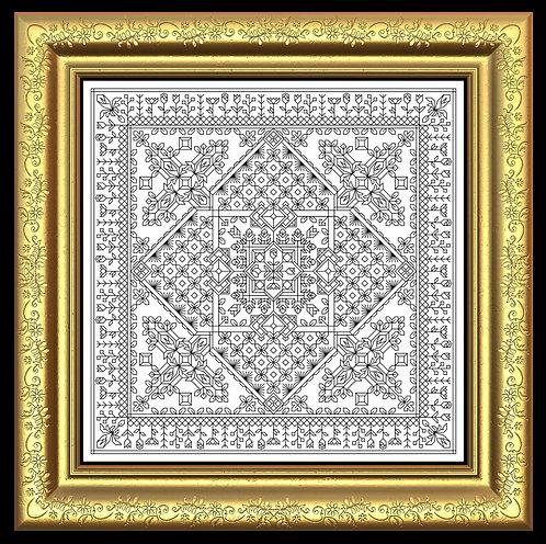 Calla Lily Glass Tile