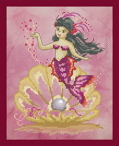 Baby Mermaid Collection (4 Charts)