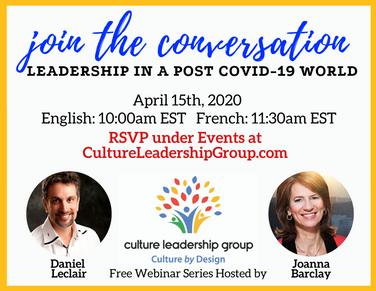 Webinar Postcard for Culture Leadership Group