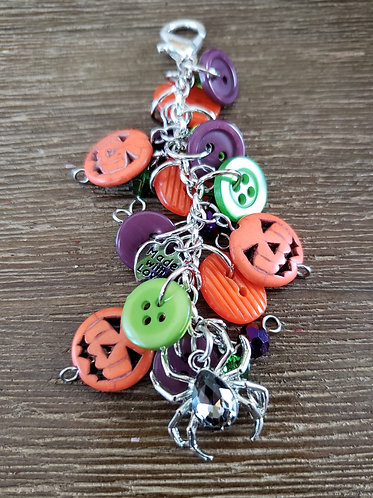 Halloween Scissors Fob